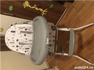 Scaun de masa bebe si premergator  - imagine 1