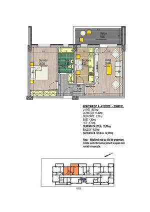 Apartament 2 camere, La Strada Mall - imagine 5