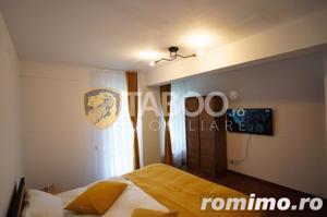 Apartament 3 camere 3 balcoane piscina comuna zona Doamna Stanca Sibiu - imagine 5