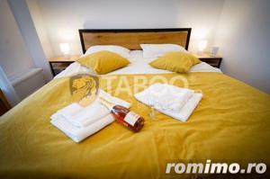 Apartament 3 camere 3 balcoane piscina comuna zona Doamna Stanca Sibiu - imagine 19