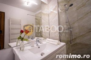 Apartament 3 camere 3 balcoane piscina comuna zona Doamna Stanca Sibiu - imagine 15