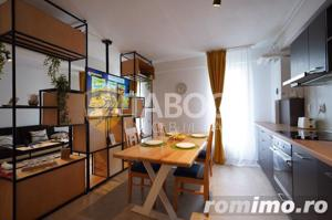 Apartament 3 camere 3 balcoane piscina comuna zona Doamna Stanca Sibiu - imagine 1
