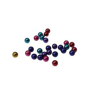 Joc- 36 de bare magnetice si 27 de bile metalice metalice - imagine 4