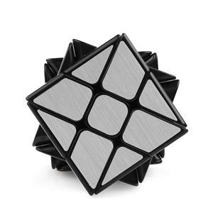 Cub rubik Moyu wind mirror argintiu - imagine 2