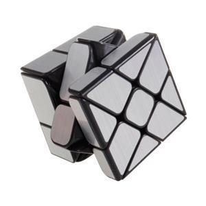 Cub rubik Moyu wind mirror argintiu - imagine 1
