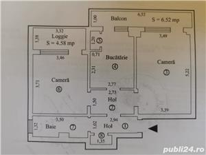 Apartament 2 camere , Garii -Dorobanti, et 1, sup 63 mp - imagine 2