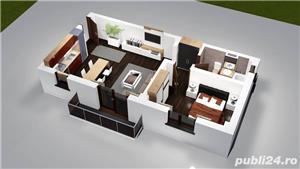 Pacurari, apartament 2 camere decomandat, bloc nou, loc de parcare - imagine 2