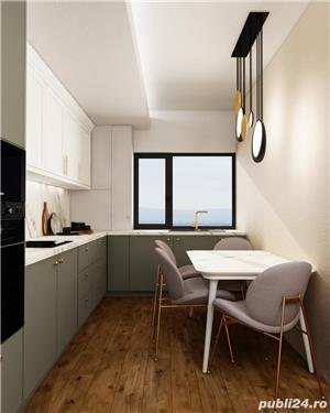 Pacurari Capat, apartament 1 camera decomandat,  bloc nou, loc de parcare - imagine 4