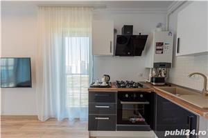 Studio nou mobilat in Solid Residence zona cluburi - Nuba - vedere lac - imagine 4