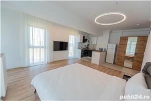 Studio nou mobilat in Solid Residence zona cluburi - Nuba - vedere lac - imagine 3