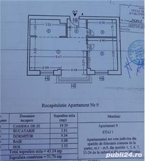 Apartament cu 2 camere Tatarasi bloc nou finalizat - imagine 9