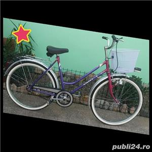 Bicicleta dama WINORA,roti 26,model retro/vintage,Impecabila ! - imagine 1