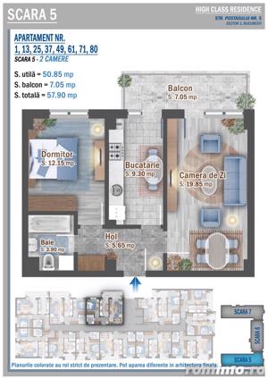 Apartament 2 camere Parcul Teilor - Theodor Pallady - imagine 4