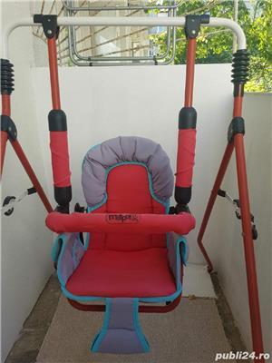 Leagan/ balansoar de gradină pliabil pentru copii MATPOL - imagine 3