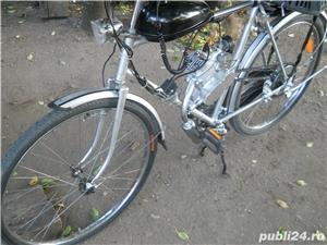 Biciceta cu motor 37 cm impecabila  Fara Rugina  - imagine 4
