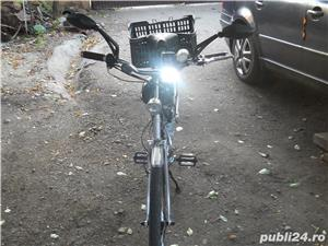Biciceta cu motor 37 cm impecabila  Fara Rugina  - imagine 2