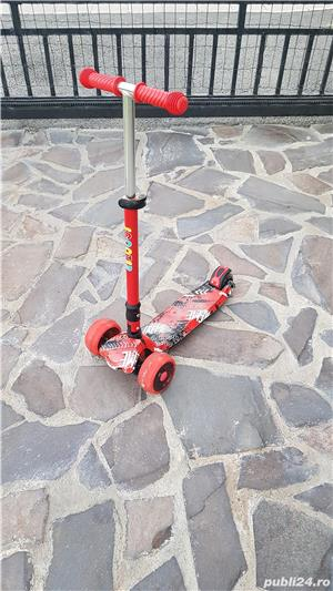 trotineta scooter aproape noua - imagine 1