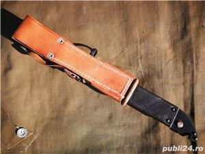 Baioneta Militara Romaneasca Kalashnikov, AKM, vanatoare, AK47,pescuit, colectie, veche,vintage - imagine 2