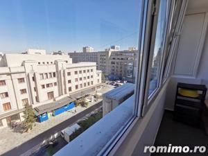 Piata Amzei 2 camere etaj 6/7 semidec. mobilat utilat balcon - imagine 9