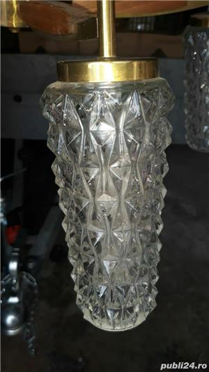 lustra,candelabru auriu - imagine 5