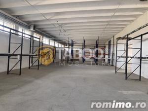 Hala industriala de inchiriat 850 mp in Sibiu zona Aeroport - imagine 1