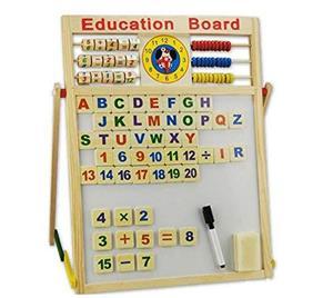 Tabla Educativa De Scris Din Lemn - imagine 3