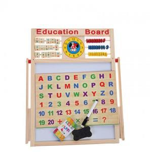 Tabla Educativa De Scris Din Lemn - imagine 5