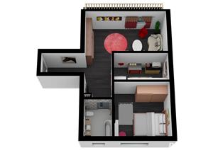 Titan - Nicolae Grigorescu, Apartament 2 camere Tip A - Bloc nou. Discount 6.500 Euro - imagine 3