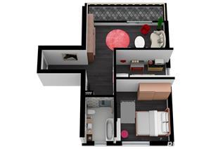 Titan - Nicolae Grigorescu, Apartament 2 camere Tip A - Bloc nou. Discount 6.500 Euro - imagine 6