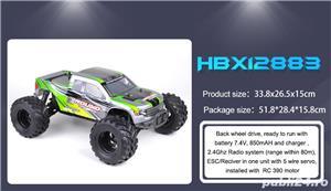 Masinuta cu telecomandă  Monstertrack HBX 12883P,cu viteza palpitanta si funct stabila pe drum accid - imagine 4