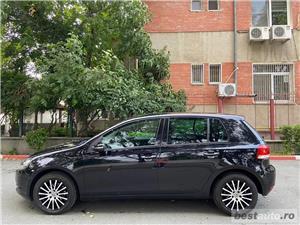 Volkswagen Golf VI // 1.6 MPI 105 CP // Pilot Automat // Scaune Incalzite // Lumini de zi Led  - imagine 8