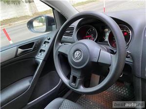 Volkswagen Golf VI // 1.6 MPI 105 CP // Pilot Automat // Scaune Incalzite // Lumini de zi Led  - imagine 2