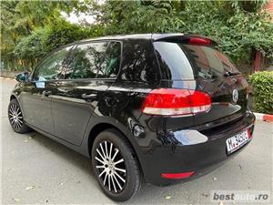 Volkswagen Golf VI // 1.6 MPI 105 CP // Pilot Automat // Scaune Incalzite // Lumini de zi Led  - imagine 3