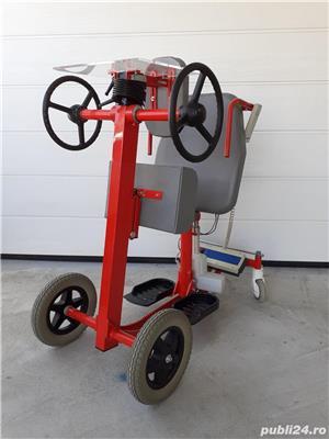 Verticalizator mobil Vitaline – 120 kg – (Standy mobil) – second-hand (folosit) - imagine 4