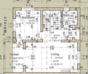 Casa tip duplex, 4 camere, Carport,  in Calea Cisnadiei - imagine 7