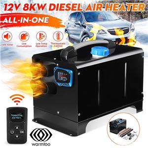 Incalzitor  PARCARE AUTO_Warmtoo 12V 8KW Car Parking Heater All-in-one LCD Display Diesel Air Heater - imagine 1