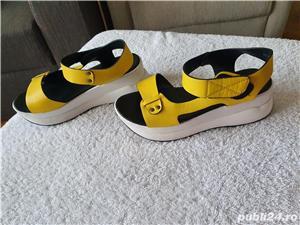 Sandale Botinelli cu platforma  - imagine 2