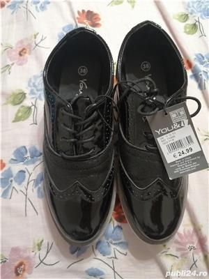 Pantofi Oxford dama - imagine 1