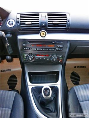BMW 118i - GARANTIE 12 LUNI - BENZINA - 2005/2006 - EURO 4 - RATE FIXE avans 0%. - imagine 11