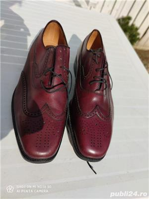 pantofi piele barbati - imagine 4