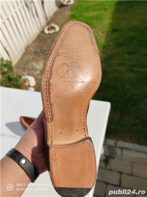 pantofi piele barbati - imagine 3