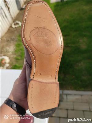 pantofi piele barbati - imagine 1