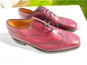 pantofi piele barbati - imagine 2