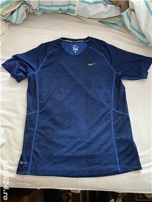Tricou Nike Running Dry-Fit Marime M-Anglia PRET FIX - imagine 1