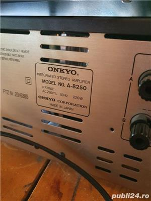 onkyo integra A8250 + cd onkyo. - imagine 5