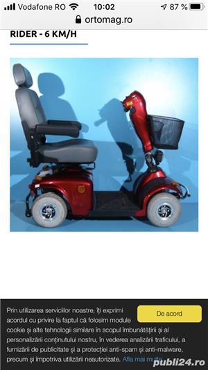 Scuter electric persoana cu handicap - imagine 3