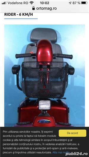 Scuter electric persoana cu handicap - imagine 2