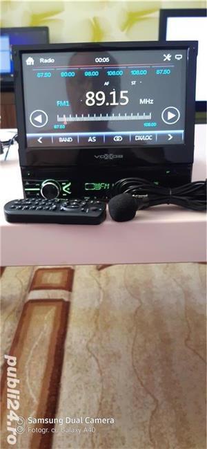 Radio FM multimedia player pentru autovehicule - imagine 1