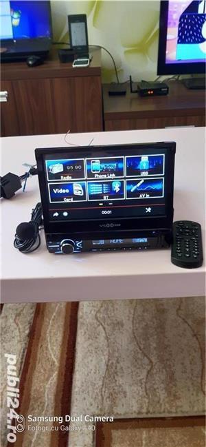 Radio FM multimedia player pentru autovehicule - imagine 2