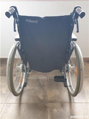 Carucior handicap cu rotile - imagine 3